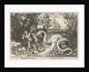 The dragon kills the companions of Cadmus by G. Rijckius