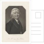 Portrait of Johannes Hendricus van der Palm by C. Schaares
