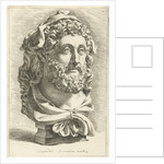 Bust of Emperor Commodus as Hercules by Jan de Bisschop