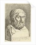Portrait Bust of Sophocles by Jan de Bisschop