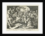 Raising of Lazarus by Theodoor Galle