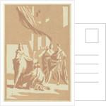 Display blocks of Polieukte by Monogrammist IW