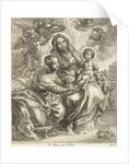 The Virgin and Child with St. Anne by Cornelis Galle