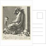 Sleeping Mars by Hendrick Hondius I