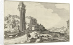 Temple of Castor and Pollux by Claes Jansz. Visscher II