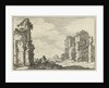 Ruins of the Baths of Caracalla, Rome, Italy by Claes Jansz. Visscher II
