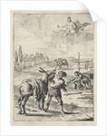 Myth of Jupiter and the donkey by John Ogilby