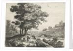 Landscape with a River by Lucas van Uden