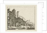 Landscape with ruins by Hermanus Fock