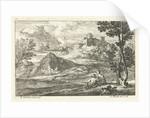 Landscape with a castle by Lodewijk XIV