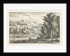 Landscape with a River and a fortress by Louis XIV King of France