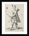 Man with bow and arrow by Clement de Jonghe
