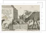 Animals at a fountain by Jan van den Hecke I