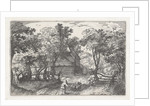 The road to Heemstede by Claes Jansz. Visscher II