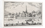 leper house in Haarlem by Claes Jansz. Visscher II