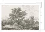 Landscape with farm by Pieter Casper Christ