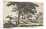 Landscape with Carriage by Pieter Casper Christ