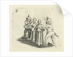 Children playing by Jacques Callot