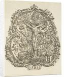 The arms of the Amsterdam Chamber of Rhetoric The Eglantine by Jacob Cornelisz van Oostsanen