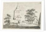 Church tower by baron Reinierus Albertus Ludovicus van Isendoorn à Blois