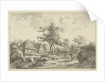 Landscape with farm by F. Bosch