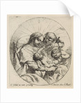 Holy Family with John the Baptist by Anonymous