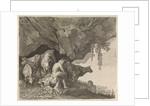 Apollo tending the flocks of Admetus, Moses van Wtenbrouck by Matheus Moysesz. van Wtenbrouck