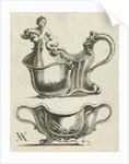 Two bowls by Christiaen van Vianen