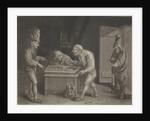 Backgammon players by Jan van der Bruggen