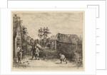 Farmers play bocce by Philippe Lambert Joseph Spruyt