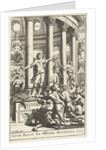 Title page for Alexander ab Alexandro, Genialium dierum Part 2 1673 by Gonsales Appelmans