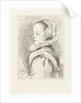 Portrait of Maria Tesselschade Roemer Visscher by Johannes Arnoldus Boland