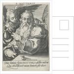 Evangelist Matthew by Hendrick Goltzius