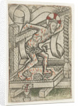 Christ in the winepress by Meester van het Martyrium der Tienduizend
