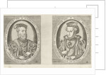Portraits of William II, Duke of Guelders, and Maria of Austria, Duchess of Guelders by Hieronymus Cock