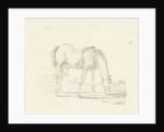 grazing horse right by Jan Dasveldt
