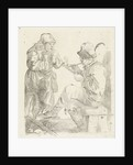 Smoking Man by Adalbertus Engelsmet