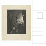 Armed robber in a cave by George Gillis Haanen