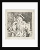 Sitting girl by Rembrandt Harmensz. van Rijn