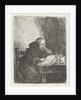 Reading monk by David van der Kellen II