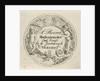 Business Card watchmaker S. Pierrot by David van der Kellen II