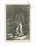 Man with a lantern by Anthonie Willem Hendrik Nolthenius de Man