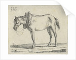 Draft Horse by Anthonie Willem Hendrik Nolthenius de Man
