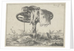 Wheel on a pole by Anthonie Willem Hendrik Nolthenius de Man