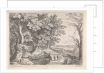 Landscape with Abraham and Isaac by Antoine Bonenfant