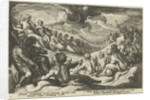 Jupiter asks the Olympian gods to council by Franco Estius
