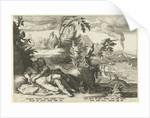 Apollo loves Coronis by Franco Estius