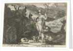Minerva asks Envy to ignite jealousy in Aglauros by Franco Estius