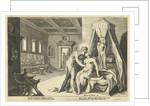 Apollo seduces Leucothe by Robert de Baudous