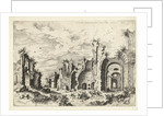View of the Baths of Diocletian by Hieronymus Cock